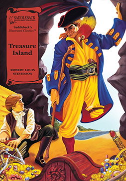 Treasure Island-Saddleback Illustrated Classics